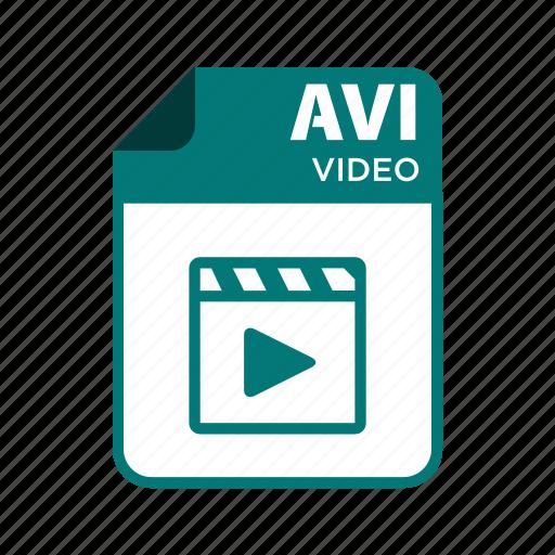 avi, file, icon2, types, video icon