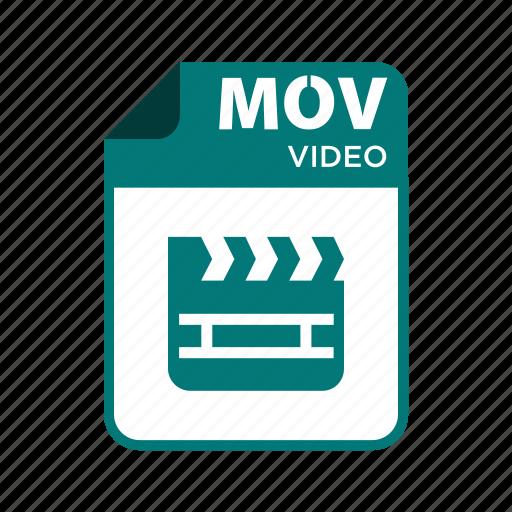 file, icon2, mov, types, video icon