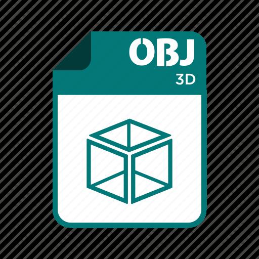 file, icon2, obj, types icon