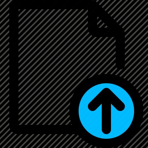 data upload, document, file, upload icon