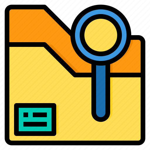 document, file, folder, office, paper icon