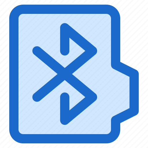 alt, bluetooth, document, file, folder, format icon