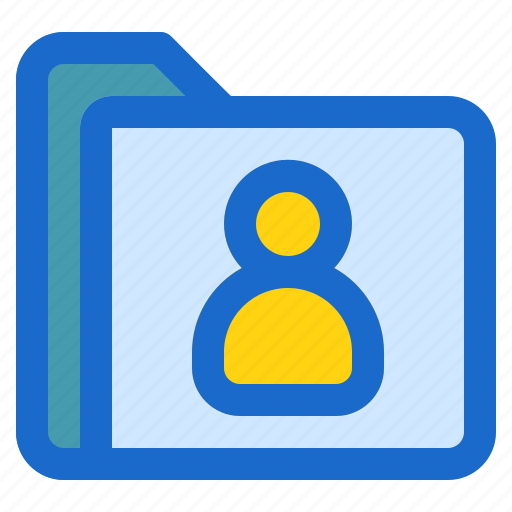 contact, document, file, folder, format icon