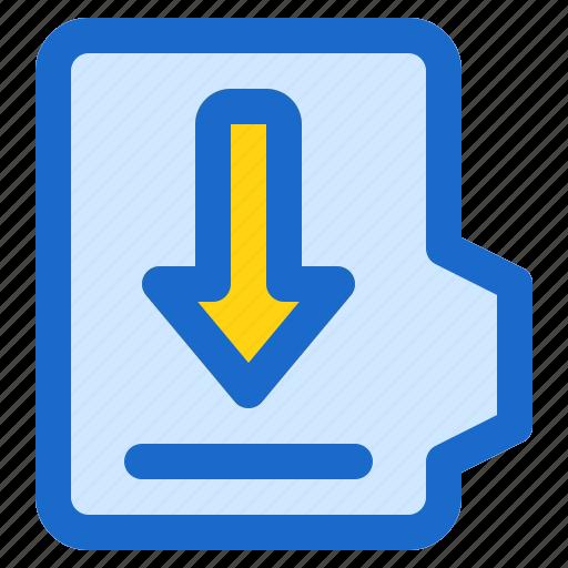 alt, document, downlaod, file, folder, format icon