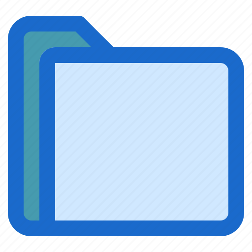 document, file, folder, format icon