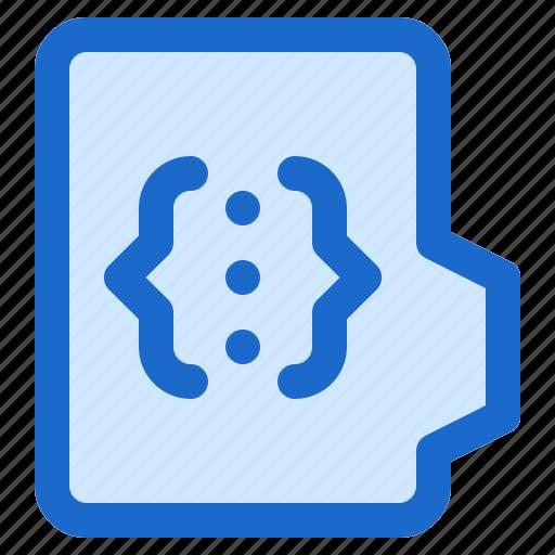 alt, document, file, folder, format, html icon