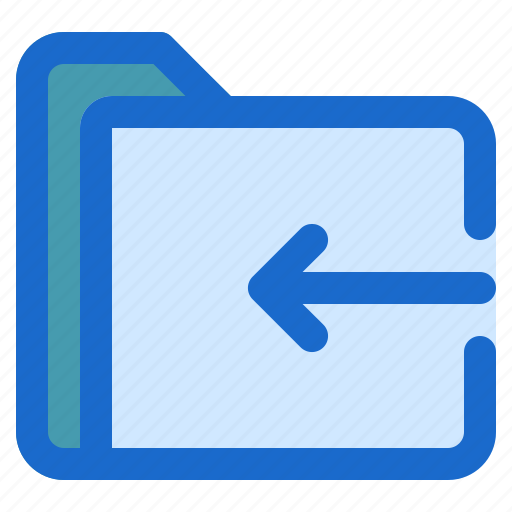 document, file, folder, format, in icon