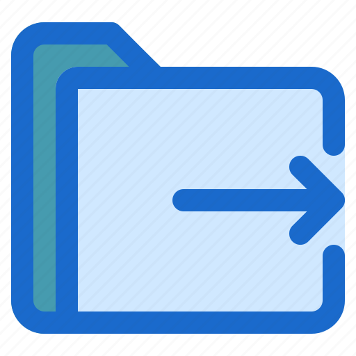 document, file, folder, format, out icon