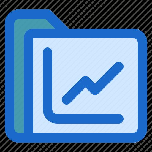 document, file, folder, format, statistic icon