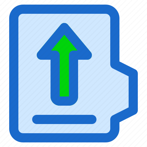 alt, document, file, folder, format, upload icon