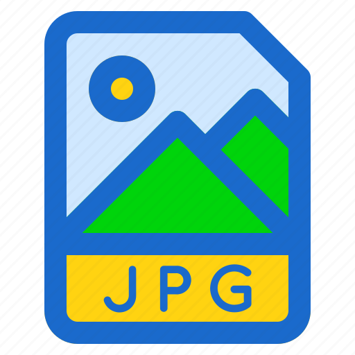document, file, folder, format, jpg icon