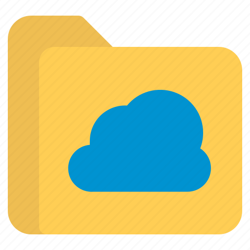 cloud, document, file, folder, format icon