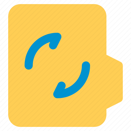 alt, document, file, folder, format, refresh icon