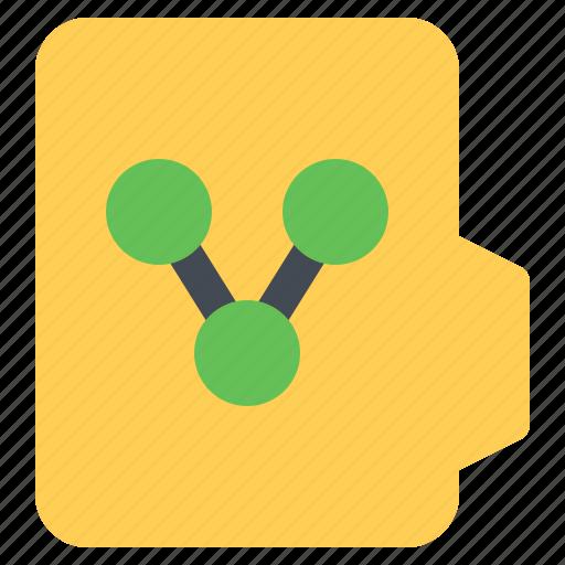 alt, document, file, folder, format, share icon