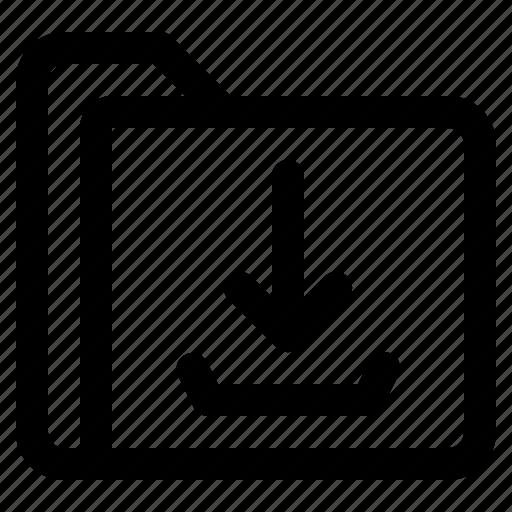document, downlaod, file, folder, format icon