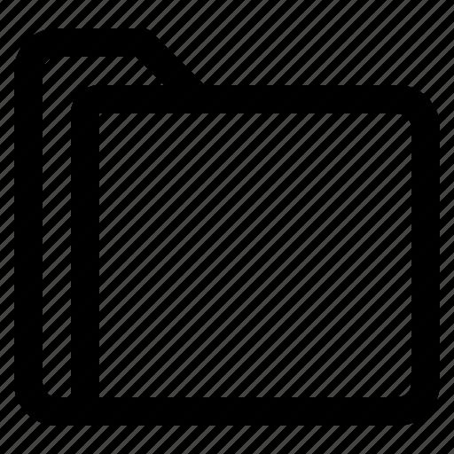 document, file, folder, format icon