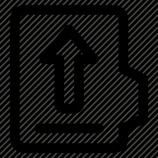 alt, document, file, folder, format, upload icon