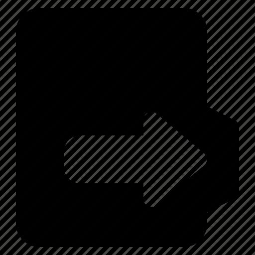 alt, document, file, folder, format, out icon
