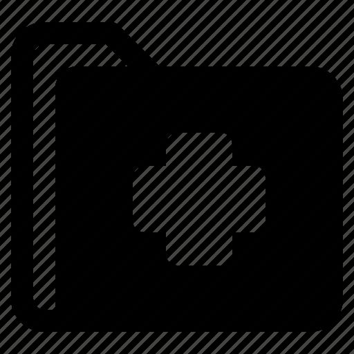 document, file, folder, format, plus icon