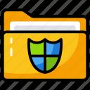 data safety, folder protection, locked folder, secure folder icon