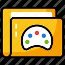 data folder, design folder, file, folder, paint folder icon