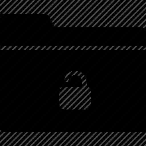 collection, folder, group, lock, unlock icon