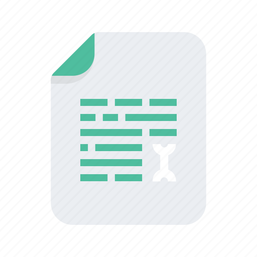 document, extension, file, files, format, paragraph, text icon