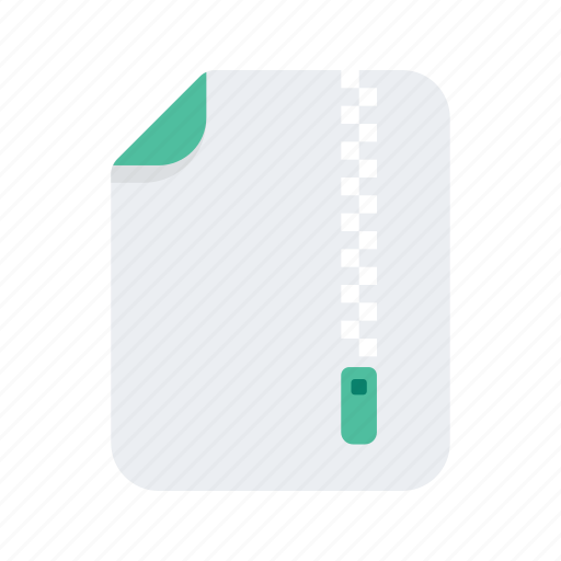 document, file, files, format, zip icon