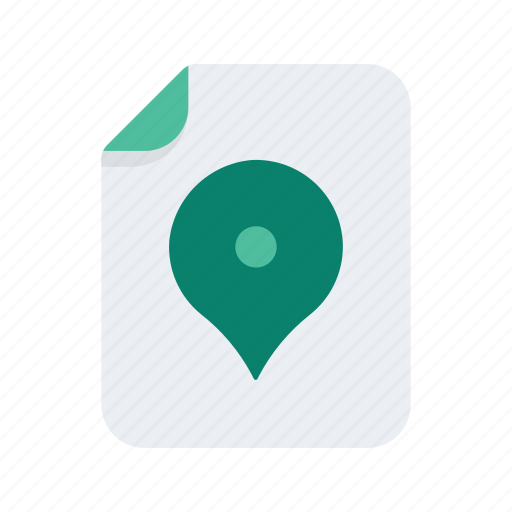 document, file, files, format, location, map, pin icon
