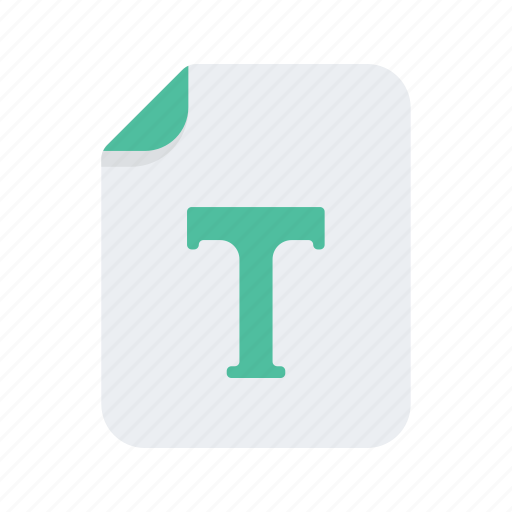 document, extension, file, file type, files, format, text icon
