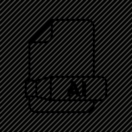 Ai, asset, document, file, folder icon - Download on Iconfinder