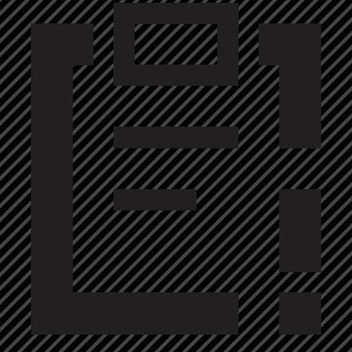 attention, clipboard, file, folder icon