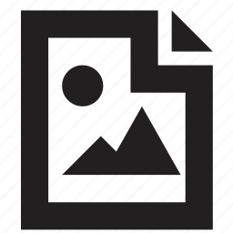 file, folder, gallery icon