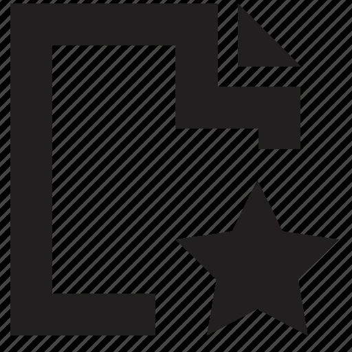 favourite, file, folder icon