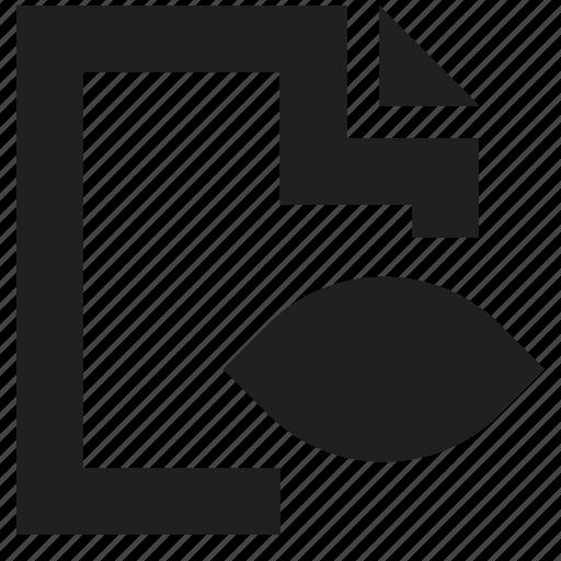 file, folder, view icon