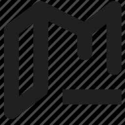 file, folder, open, remove icon
