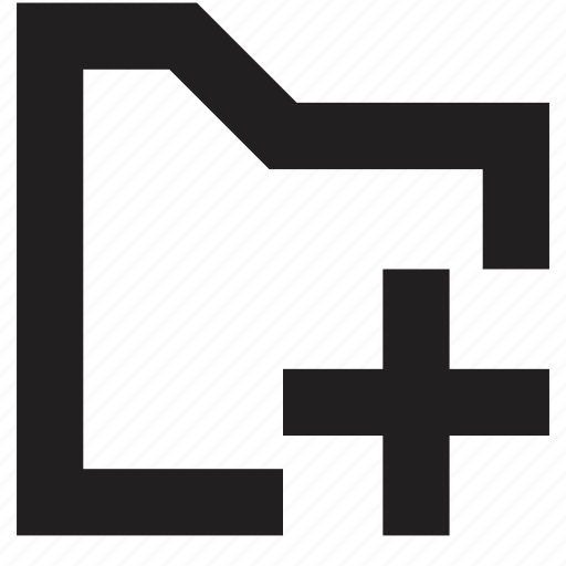 add, file, folder icon