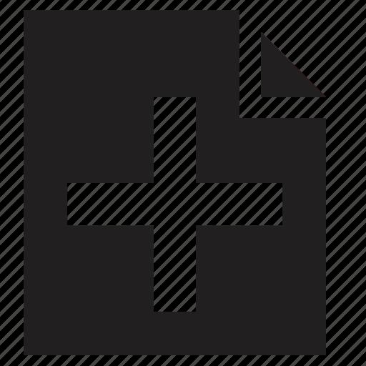 add, file icon