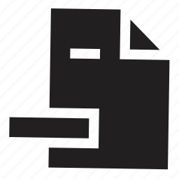 files, remove icon