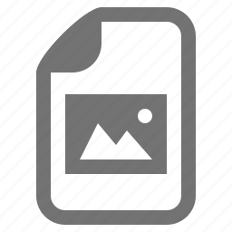 document, file, image, photo, picture, raster, type icon