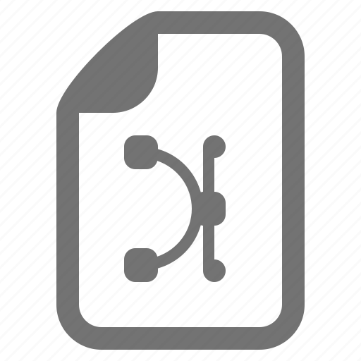 document, file, graphics, illustration, image, type icon