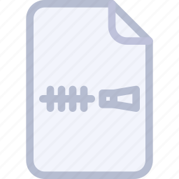 archive, doc, file, folder, zip icon