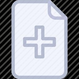 add, copy, create, doc, file icon