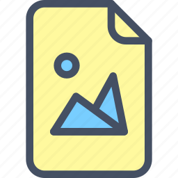 doc, file, image, photo, picture icon