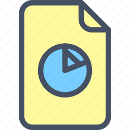 analytics, doc, file, graph, image, scheme icon