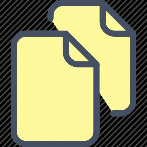 copy, docs, files, move, turn icon