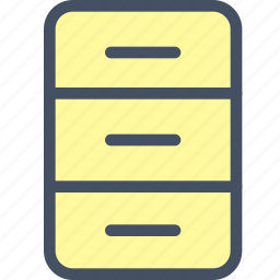 archive, box, directory, doc, file, folder icon