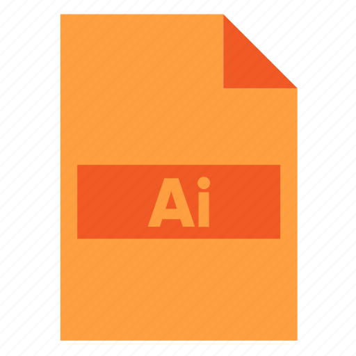 Ai file, document, extension, file, filetype, format, illustrator icon - Download on Iconfinder