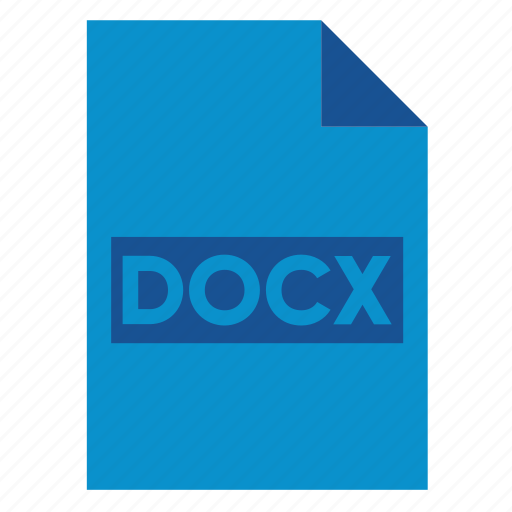 Document, docx, extension, file, filetype, format, type icon - Download on Iconfinder