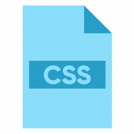 Css, data, document, extension, file, filetype, format icon - Download on Iconfinder
